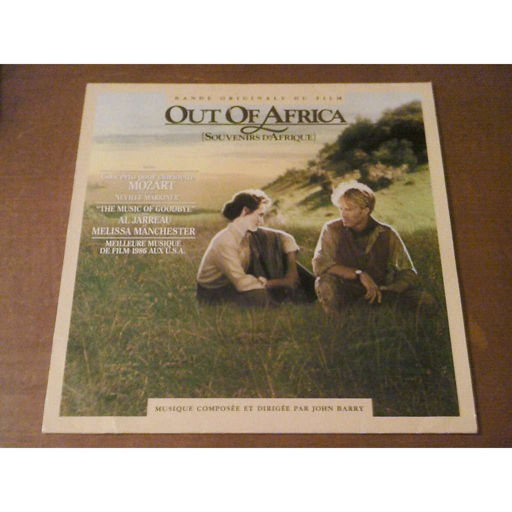 John Barry ‎– Bande Originale Du Film Out Of Africa (Souvenirs D'Afrique)) 0336