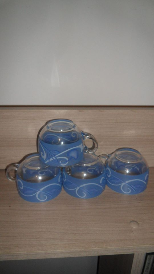 lot de 4 tasses 1028