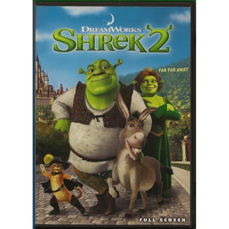DVD Shrek 2 2014
