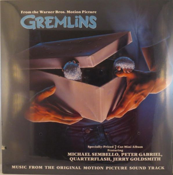 Various Jerry Goldsmith ‎– Gremlins (Original Motion Picture Soundtrack) 0334