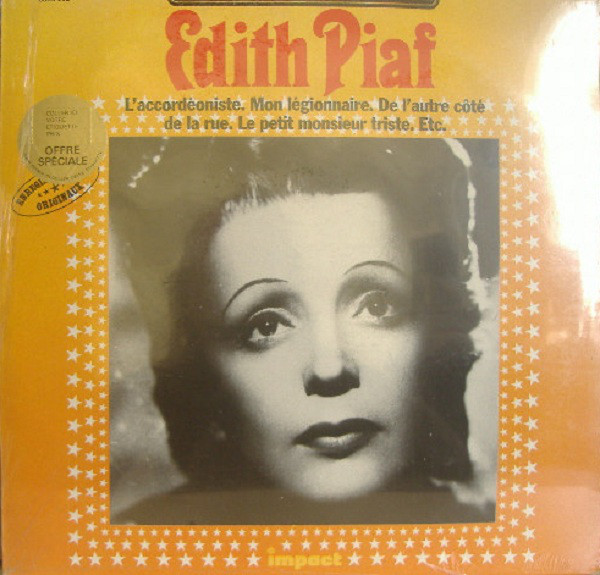 Edith Piaf ‎– Disque D'Or - 0357