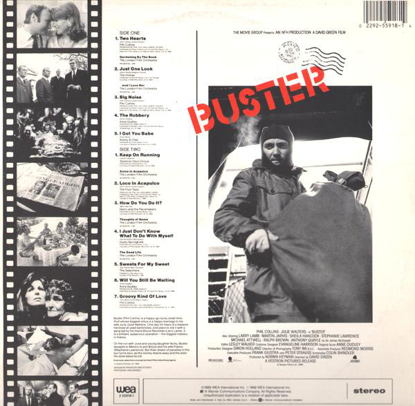 Buster (Original Motion Picture Soundtrack) 0332