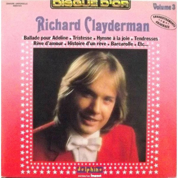 Richard Clayderman ‎– Volume Three (3) 0361