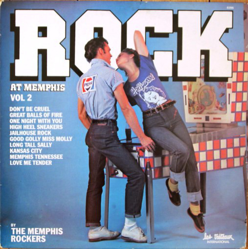 The Memphis Rockers ‎– Rock At Memphis Vol. 2 0358