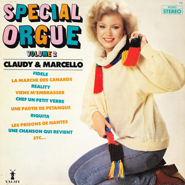 Claudy & Marcello ‎– Special Orgue Volume 2 0354